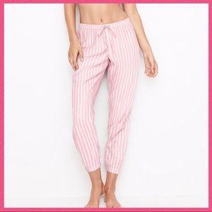 •Victoria's Secret• Sleep Pink Stripe pants